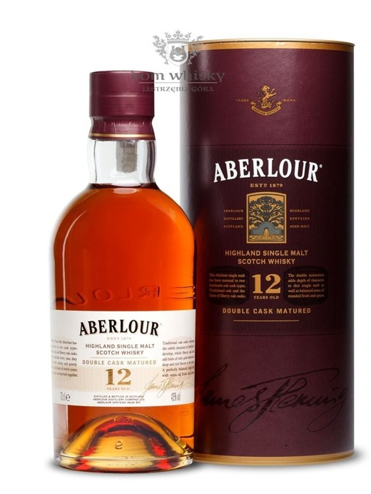 Aberlour 12-letni Double Cask / 40% / 0,7l