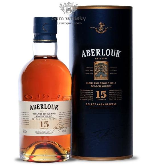 Aberlour 15-letni Select Cask Reserve / 43% / 0,7l