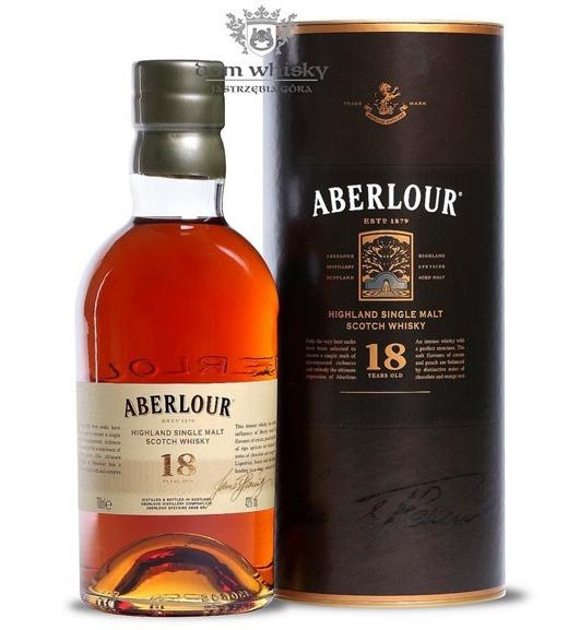 Aberlour 18-letni / 43% / 0,7l