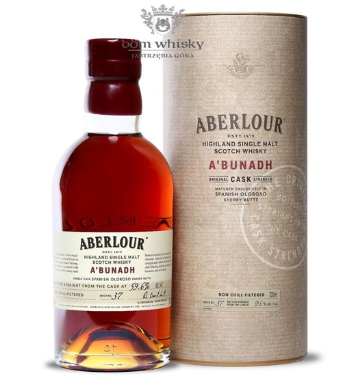 Aberlour a'bunadh Batch # 37 / 59,6% / 0,7l