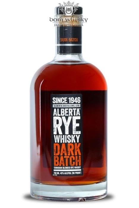 Alberta Rye Whisky Dark Batch / 45% / 0,75l