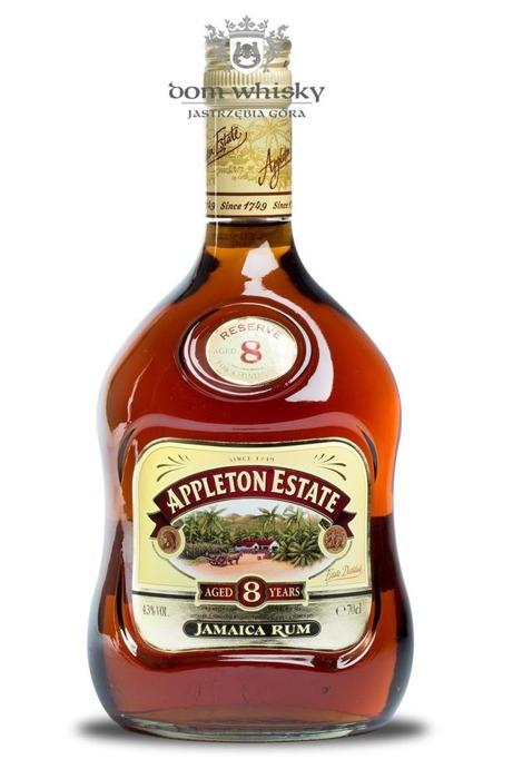 Appleton Estate 8 letni Jamaica Rum / 43% / 0,7l