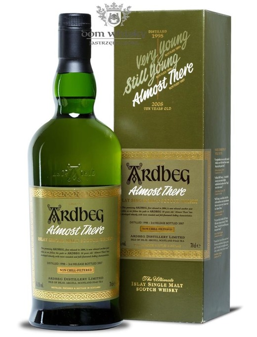 Ardbeg Almost There (2007 Release) / 54,1% / 0,7l