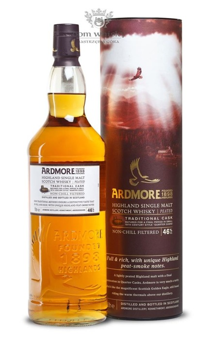 Ardmore Traditional Cask Finish / 46% / 1,0l