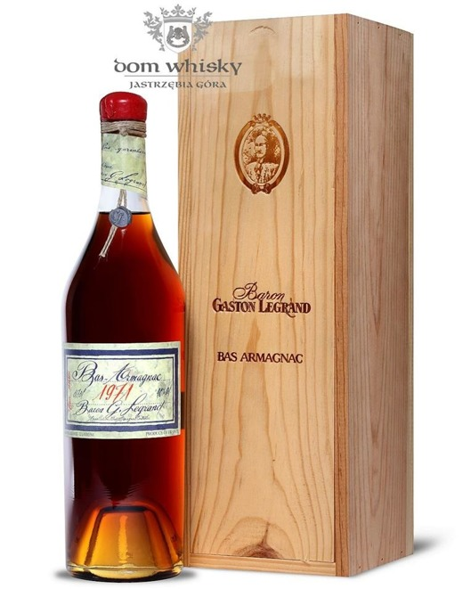 Armagnac Baron Gaston Legrand 1971 / 40% / 0,7l