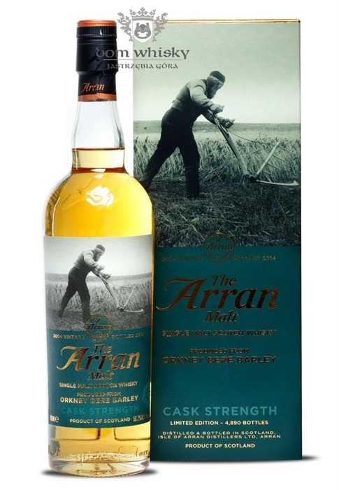 Arran 2004 Orkney Bere Barley (Bottled 2014) / 56,2% / 0,7l