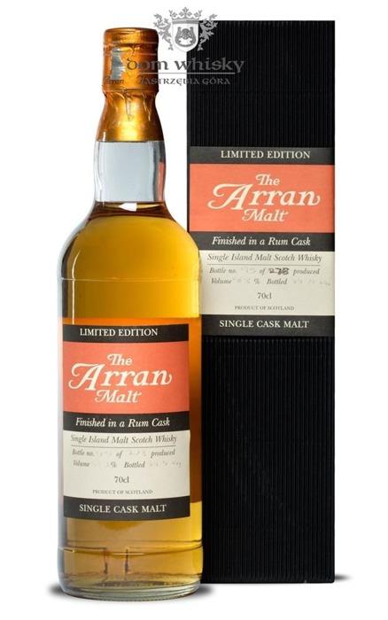 Arran Finished in a Rum Cask (Bottled 2004) / 58,3% / 0,7l