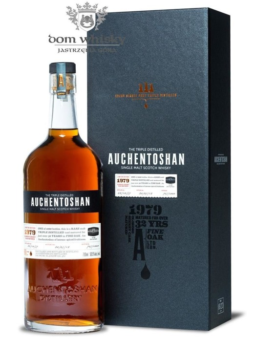 Auchentoshan 1979, 32-letni Oloroso Sherry Matured/50,5% /0,7l