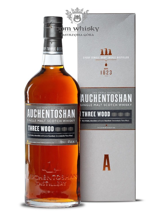 Auchentoshan Three Wood / 43% / 0,7l