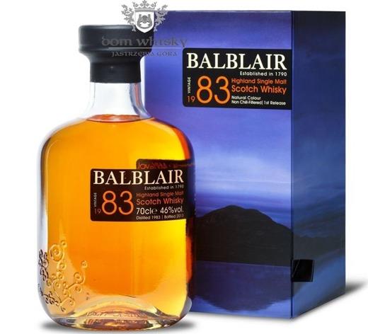 Balblair 1983 (Bottled 2013) / 46% / 0,7l