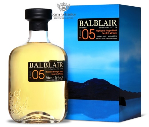 Balblair 2005 (Bottled 2016) 2st Release / 46% / 0,7l