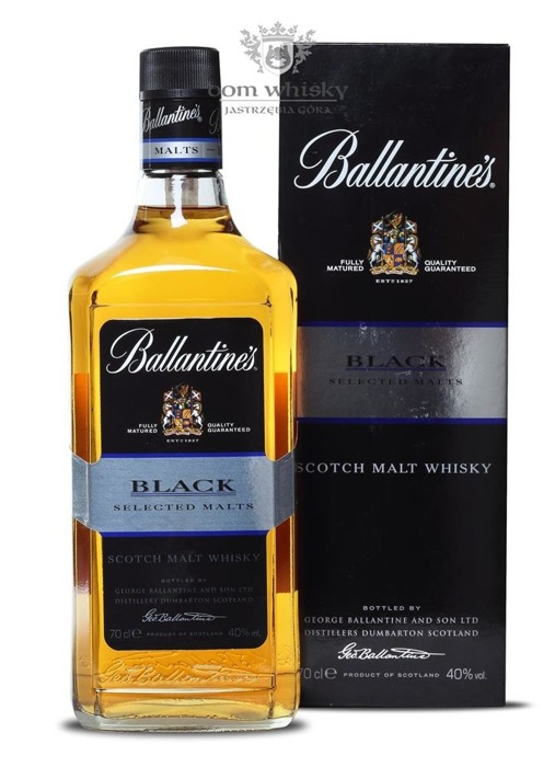 Ballantine's Black Selected Malt / 40% / 0,7l