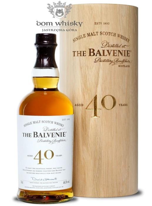 Balvenie 40-letni / 48,5% / 0,7l