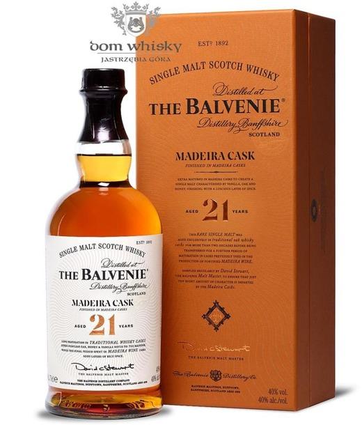 Balvenie Madeira Cask 21-letni / 40% / 0,7l