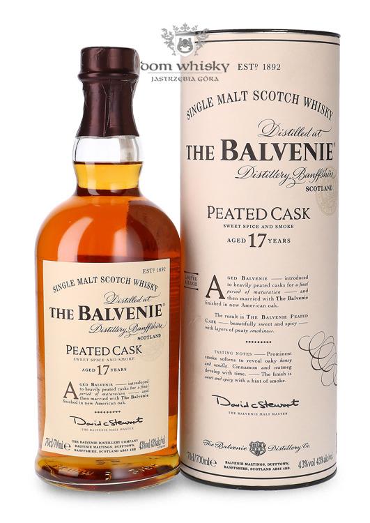 Balvenie Peated Cask, 17-letni / 43% / 0,7l