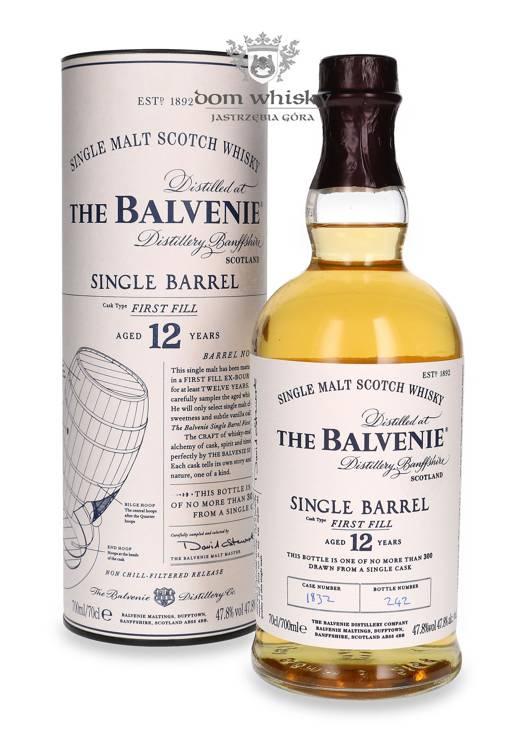 Balvenie Single Barrel, 12-letni / 47,8% / 0,7l