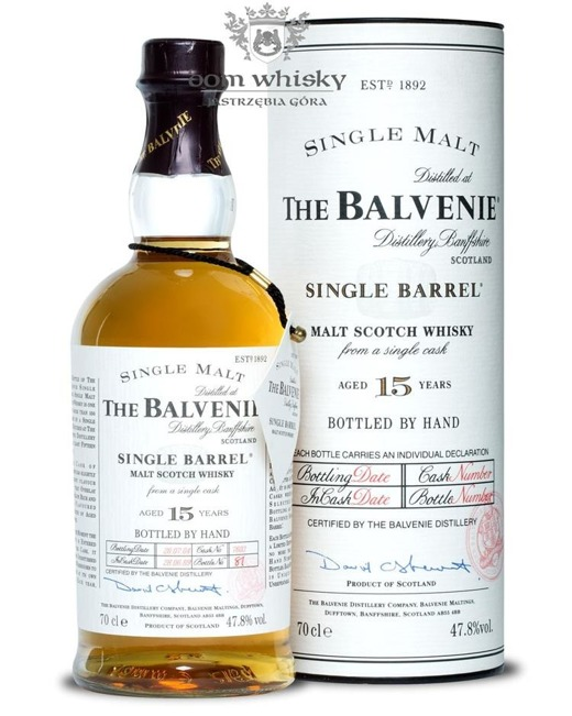 Balvenie Single Barrel, 15-letni (D.1989, B.2004) / 47,8% / 0,7l