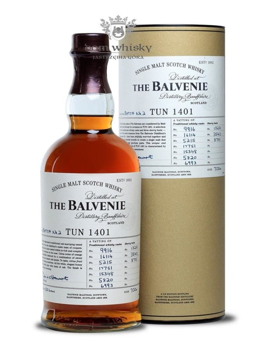 Balvenie TUN 1401, Batch No. 2 / 50,6% / 0,7l
