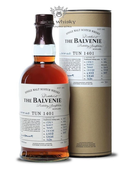 Balvenie TUN 1401, Batch No. 8 / 50,2% / 0,7l