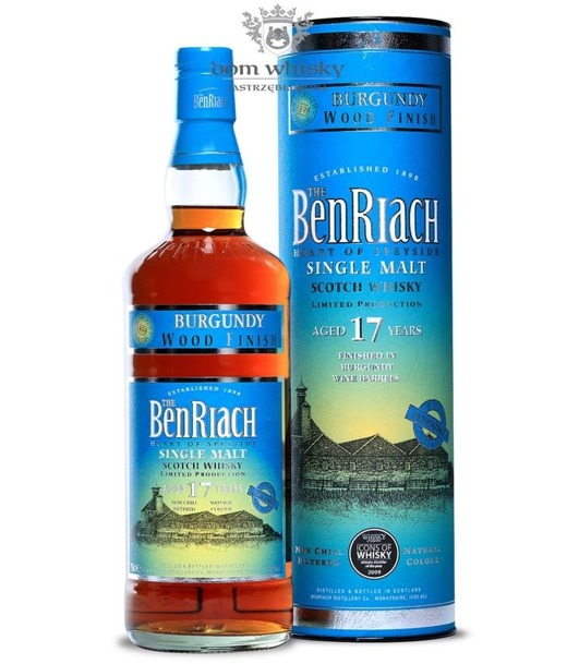 BenRiach 17-letni Burgundy Wood Finish / 46%/ 0,7l