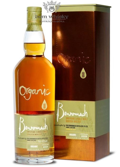 Benromach Organic (D.2008, B.2014) / 43% / 0,7l