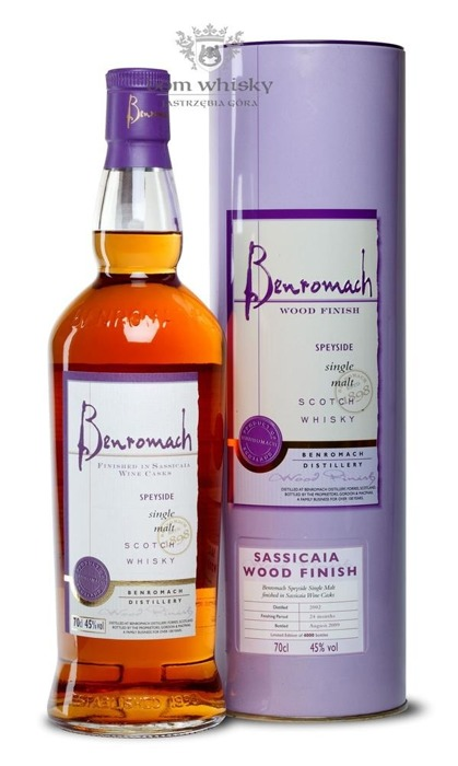 Benromach Sassicaia Wood Finish (D.2002, B.2009) / 45% / 0,7l