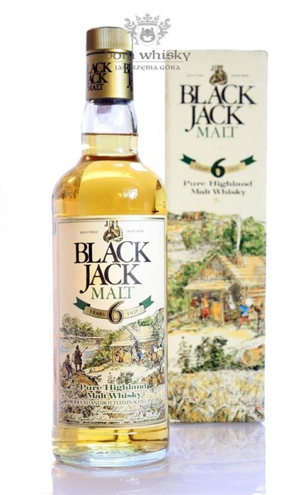 Black Jack Pure Malt, 6-letni / Box / 40% / 0,75l