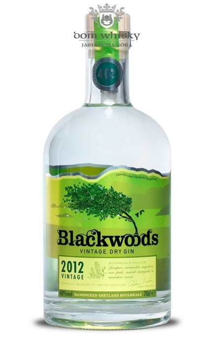 Blackwoods Vintage Dry Gin 2012 (Szkocja) / 40% / 0,7l