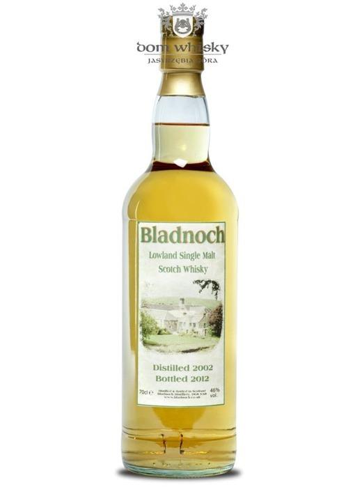 Bladnoch 2002 (Bottled 2012) / 46% / 0,7l