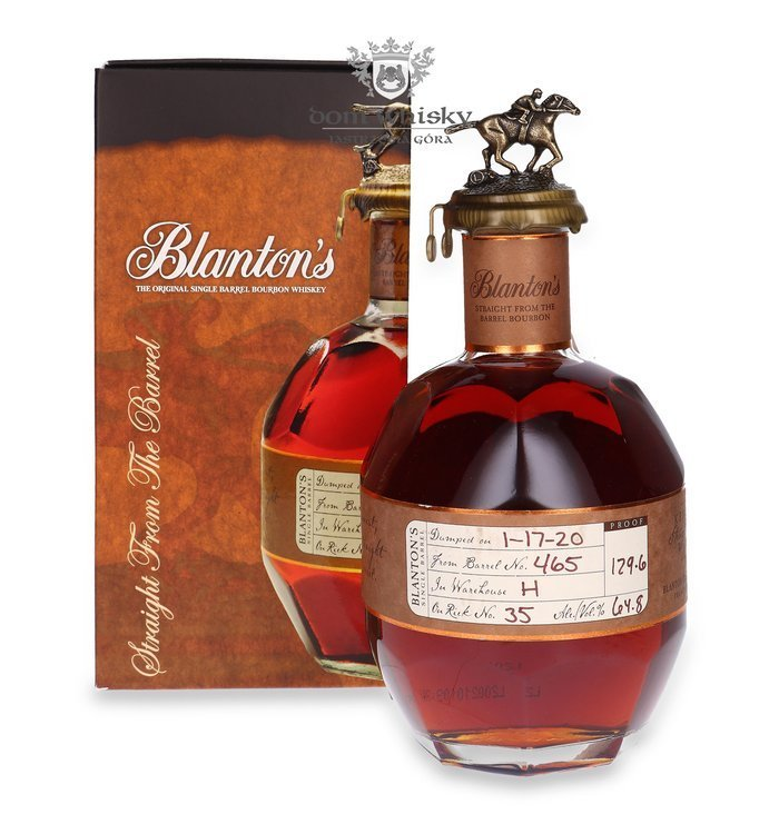 Blanton's Straight From The Barrel / 64,8% / 0,7l