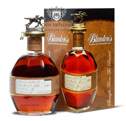 Blanton's Straight From The Barrel / 65,45% / 0,7l