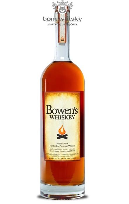 Bowen's Californian Whiskey / 45% / 1,0l