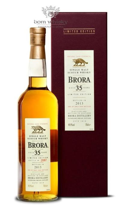 Brora 35-letnia (D.1977, B.2013) 12th Release / 49,9% / 0,7l