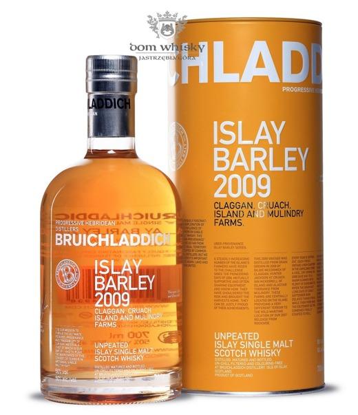 Bruichladdich Islay Barley 2009 (Claggan, Cruach, Island and Mulindry Farms) / 50% / 0,7l