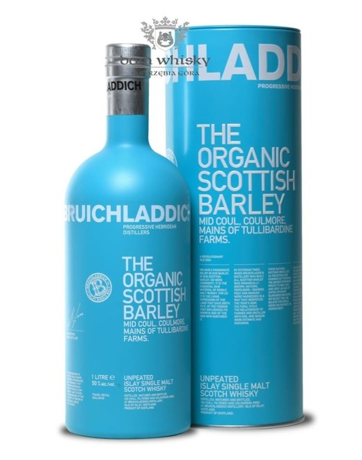 Bruichladdich The Organic Scottish Barley / 50% / 1,0l