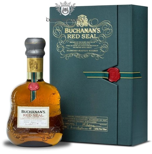 Buchanan's Red Seal Blended Whisky / 40% / 0,75l