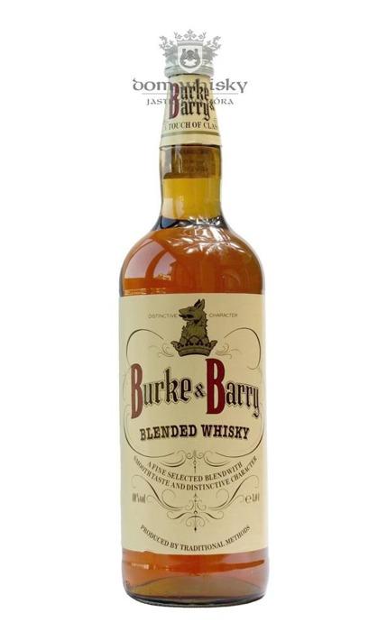 Burke & Barry Blended Whisky / 40% / 1,0l