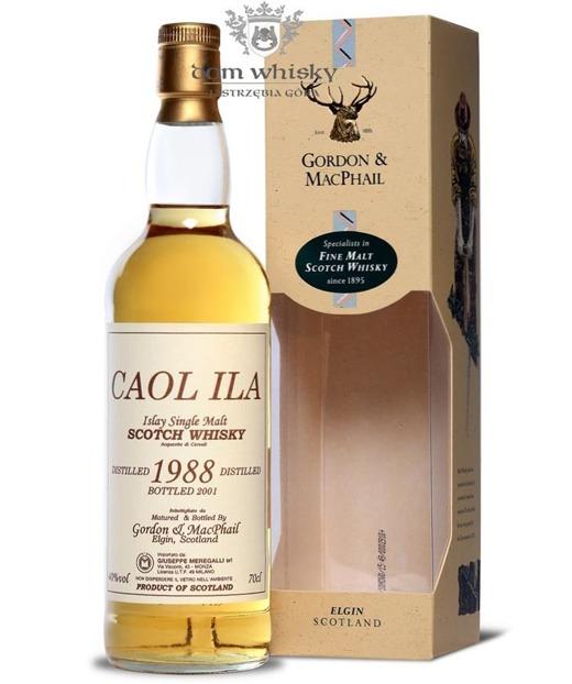 Caol Ila 1988 (Bottled 2001) Gordon & MacPhail / 40%/ 0,7l