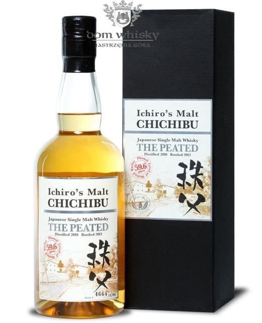 Chichibu Ichiro's Malt The Peated, (D.2010, B.2013) /53,5%/0,7l