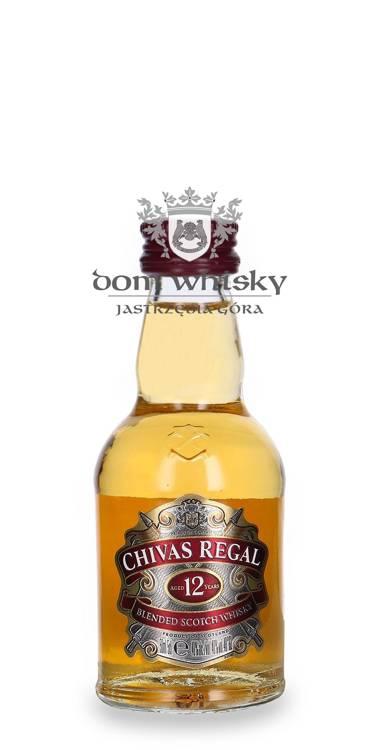 Chivas Regal 12-letni / 40% / 0,05l