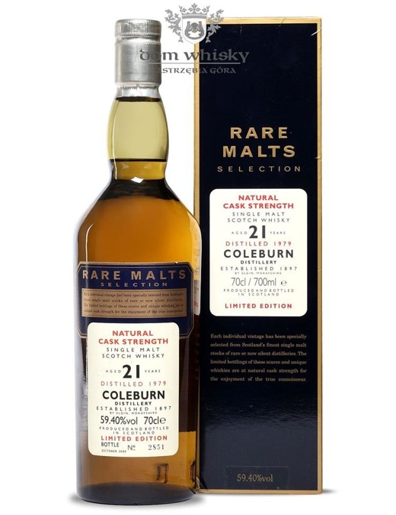 Coleburn 21-letni (D.1979, B.2000) Rare Malts / 59,4% / 0,7l