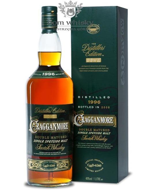 Cragganmore 1996(B.2008)Distillers Edition, Port Finish/40%/1,0l