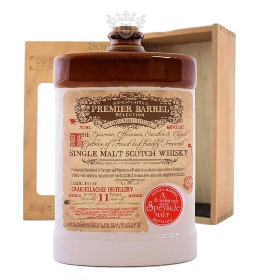 Craigellachie 11 YO Premier Barrel D. Laings porcelana /46%/0,7l