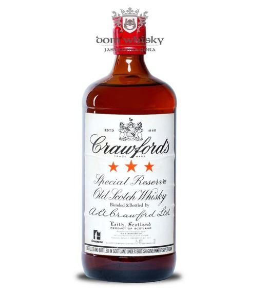 Crawford's 3 Star Special Reserve, Bot.1960s / 40% / 0,75l