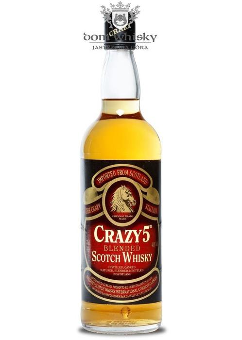 Crazy 5-letni Blended Scotch Whisky / 40% / 0,7l