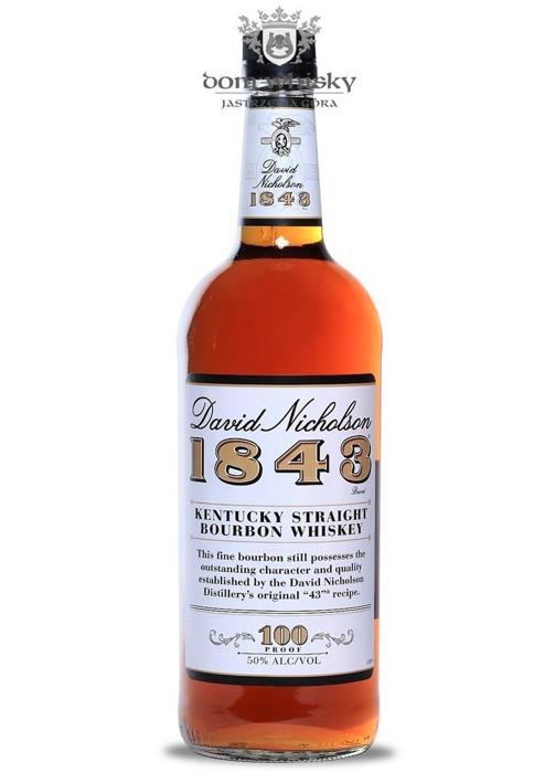 David Nicholson 1843 Kentucky Bourbon / 50% / 1,0l