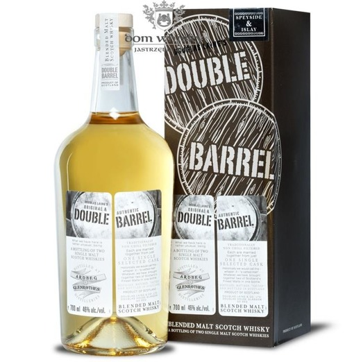 Double Barrel Blended Malt Ardbeg & Glenrothes / 46% / 0,7l
