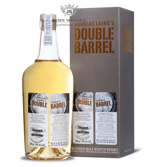Double Barrel Blended Malt Ardbeg & Inchgower / 46% / 0,7l