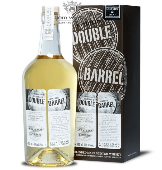 Double Barrel Blended Malt, Mortlach & Laphroaig / 46% / 0,7l