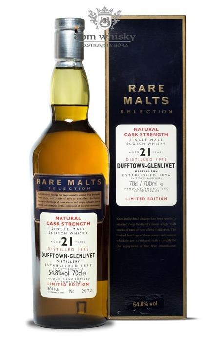 Dufftown 21-letni (D.1975 B.1997) Rare Malts / 54,8% / 0,7l